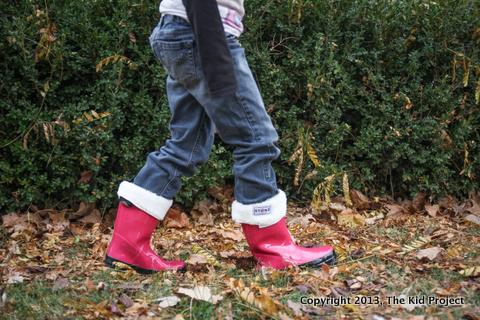 Stonz Rain Bootz with fleece liners