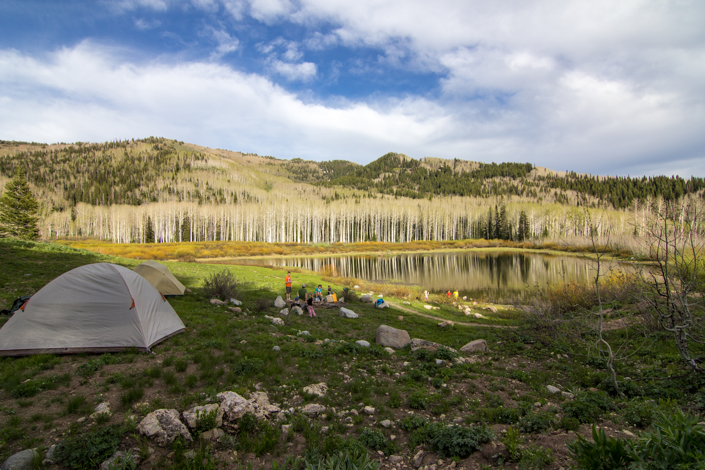 Willow Heights Lake backpacking trip, Wasatch, UT