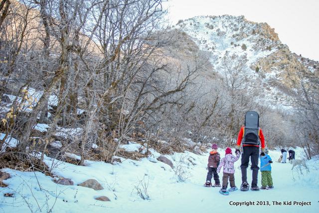 Neff's Canyon Trail, dog friendly