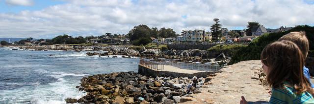 Monterey Bay via Lover's Point Park