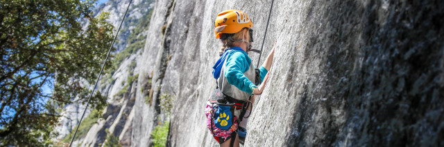 Kid Friendly / moderate Climbing in Yosemite