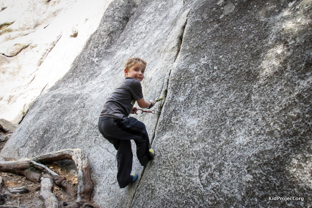 A new way to aid solo, kids climbing