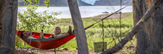 Living purposefully - camping with your kids