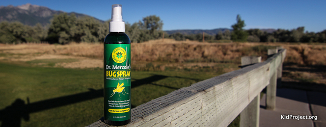 Mercola all-natural bug spray giveaway