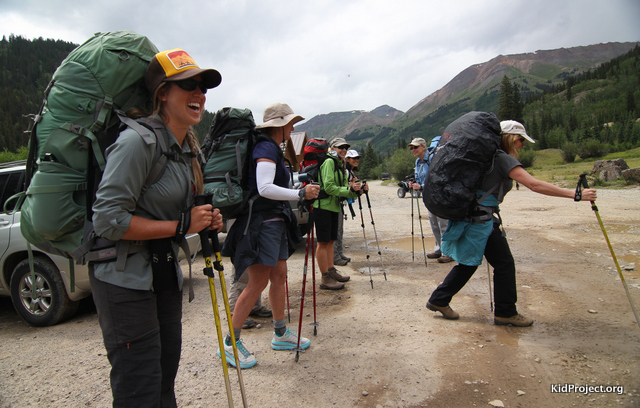 Women's backpacking trips in the San Juans, Colorado