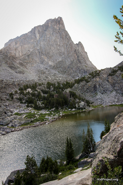 vNorth Lake, Wind River Range, WY