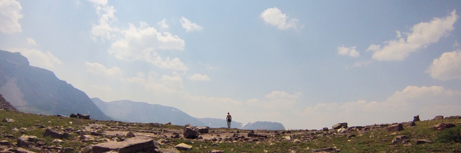High Uinta Wilerness, hiking into solitude