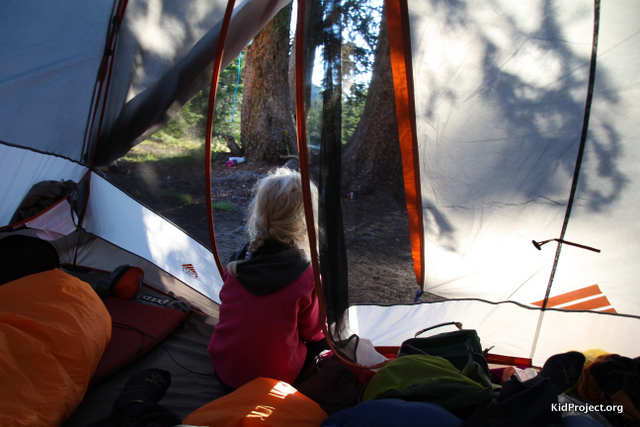 Camping/tents with kids in backcountry