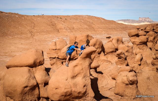 Climbing Hoodoos