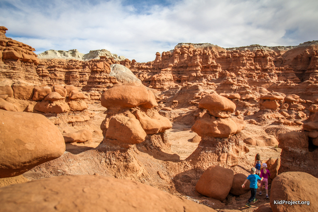 Goblin Valley playground
