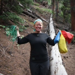 Hanging bear bags and lvoing IO Merino clothing