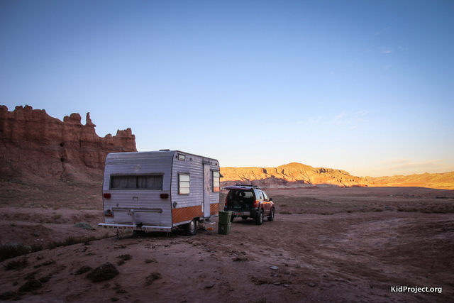 CAmping on BLM land near Goblin Valley
