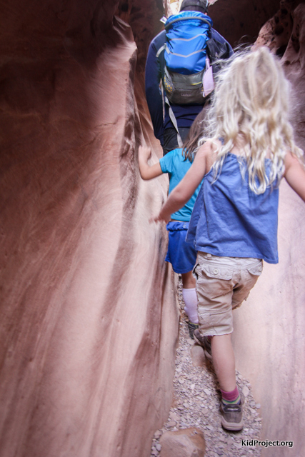 Hiking with kids in southern utah