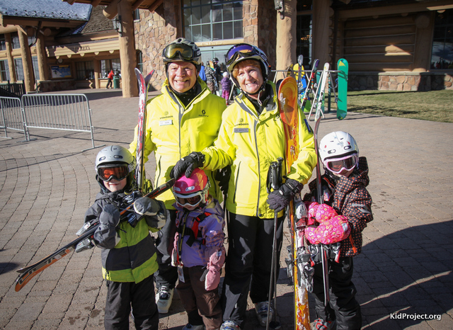 learning safe adults at ski areas