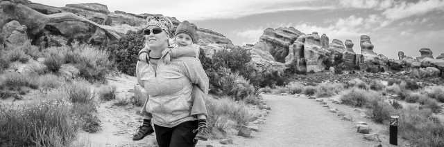 Moab, Outdoors with toddlers full res