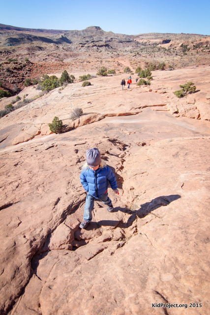 Easy hikes for families, Delicate Arch