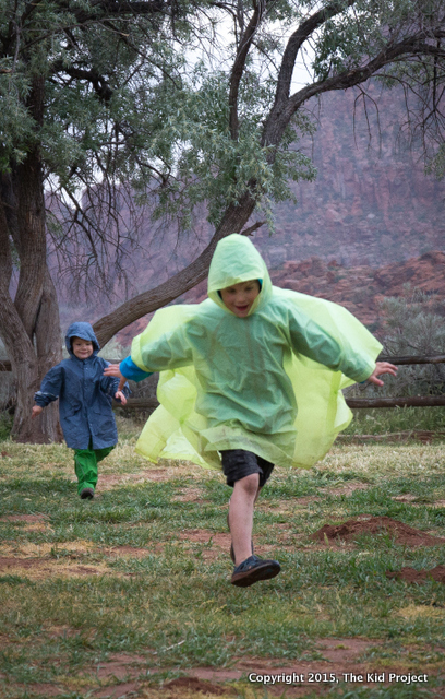 Camping in rain can be fun too!