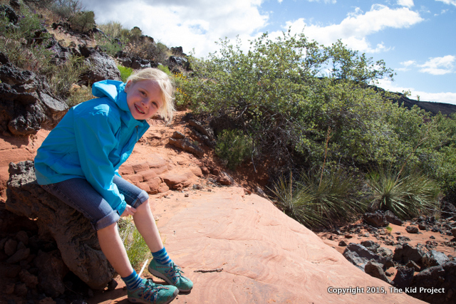 Hiking in Snow Canyon, Petrified Sand Dunes