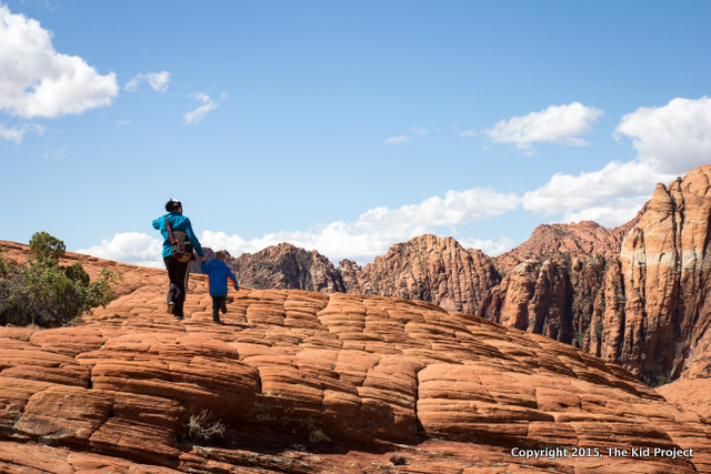 Petrified Sand Dunes trail, Snow Canyon State Park