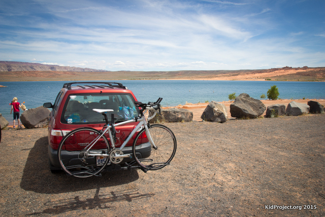 SAnd Hollow reservoir for Ironman St. George