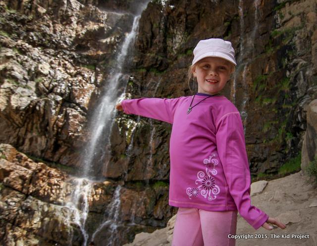Waterfall Canyon cool off near Ogden