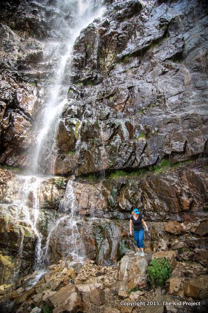 Summer hikes, waterfall canyon, Ogden Utah