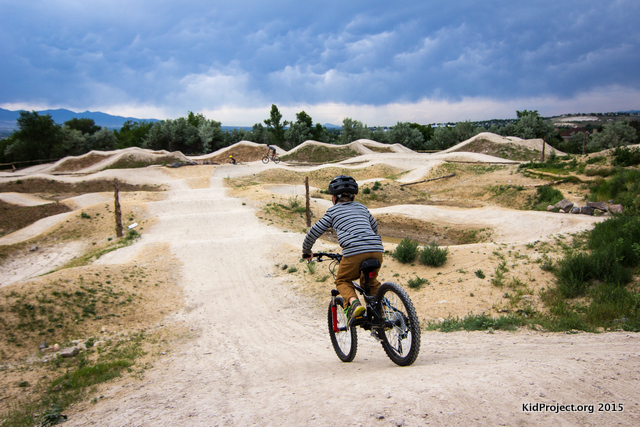 Intermediate to Advanced Skills Park, Draper Cycle Park