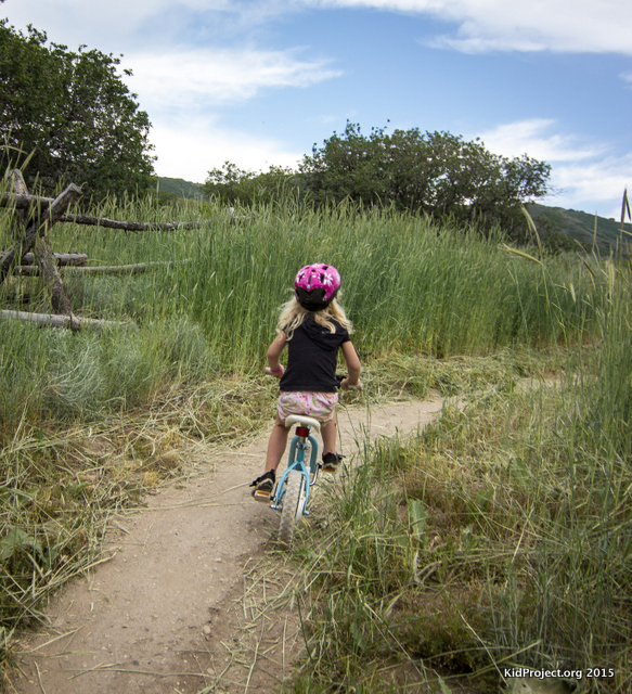 Beginner trails for the young ones, Draper Cycle Park, UT