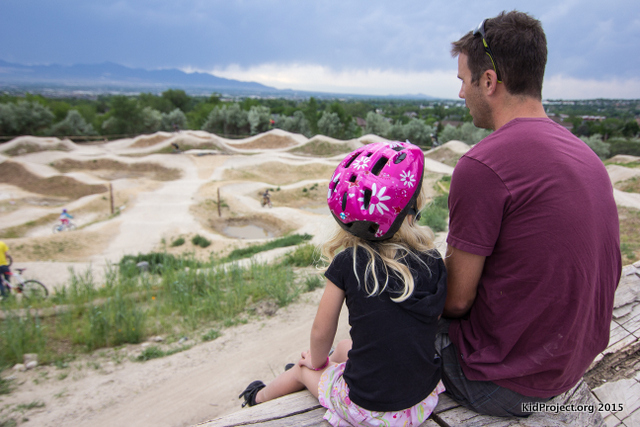 Family Time at Draper Bike Park, UT