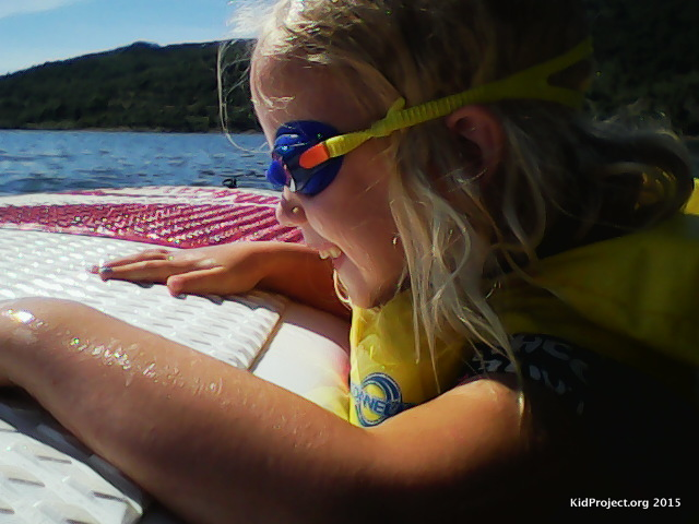 Vtech Action Cam - Paddleboarding with kids