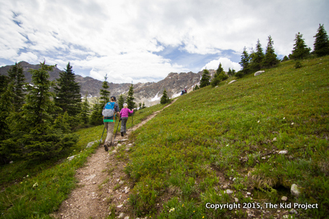 Hiking to Lake Ann, Sawatch Range, Colorado