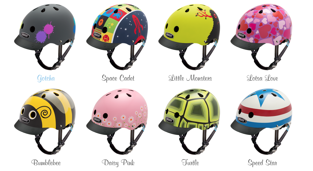 gear review little nutty nutcase helmets for kids the. Black Bedroom Furniture Sets. Home Design Ideas