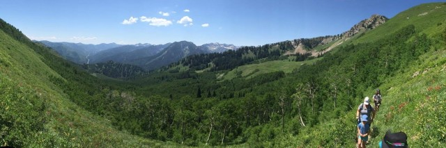 Big Cottonwood Canyon in the summer, Utah full res