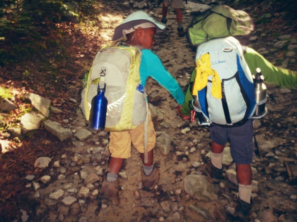 From Darcy: A brotherly helping-hand on the Appalachian Trail.