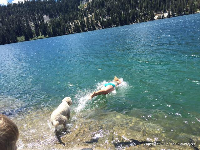 Best swimming holes, Echo lake, CA