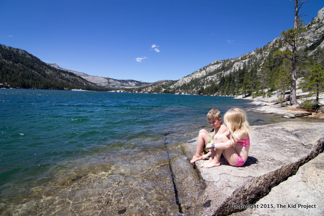 Exploring Echo Lake, CA with kids