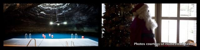 Homestead winter collage