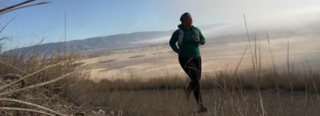 running at Deer Creek res, UT