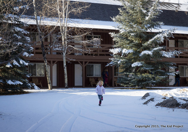 The Bunkhouse at the Homestead Resort, perfect for families up to 6 people.