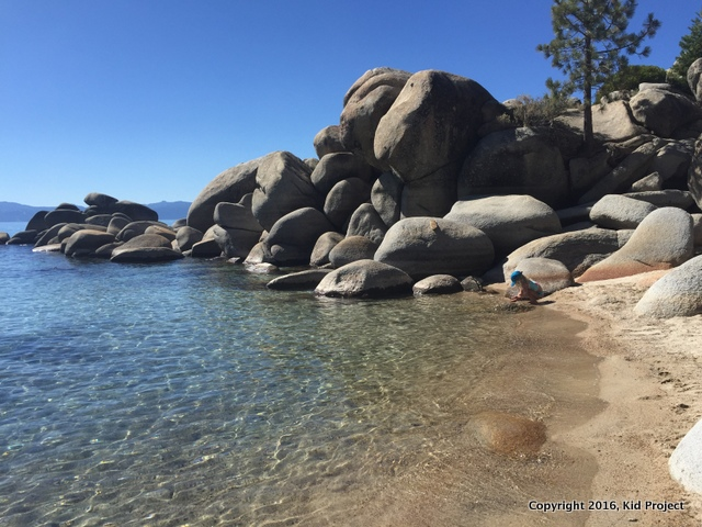 Chimney Beach, Lake Tahoe NV