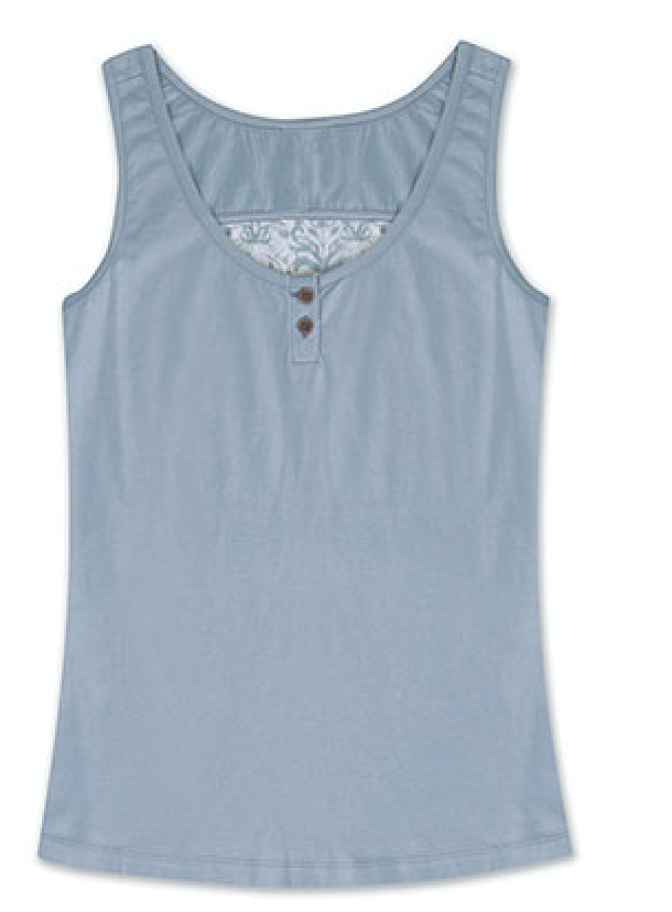 100% organic cotton jersey with 60 polyester/40 viscose slub jersey burnout