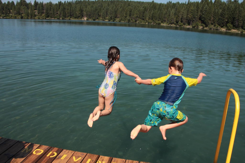 best lakeside campgrounds near Calgary