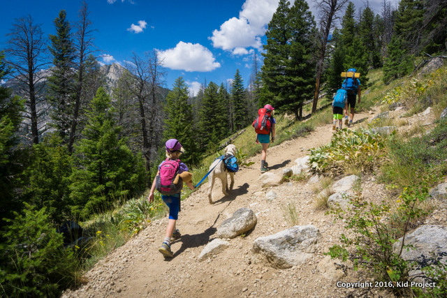 SAWtooth backpacking from Tin Cup Trailhead