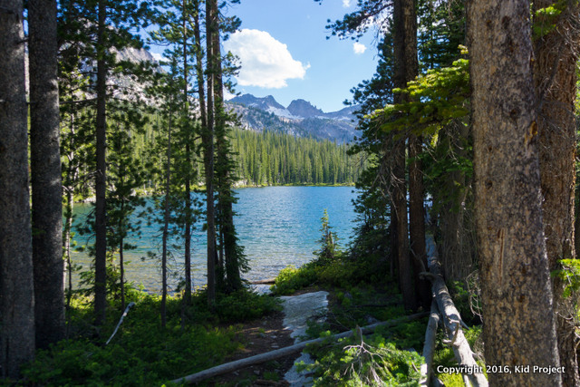 Sawtooth lakes, alpine