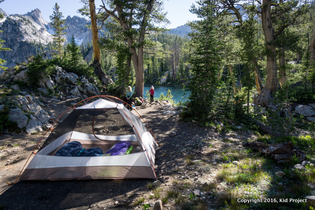 backpacking Alice Lake Idaho