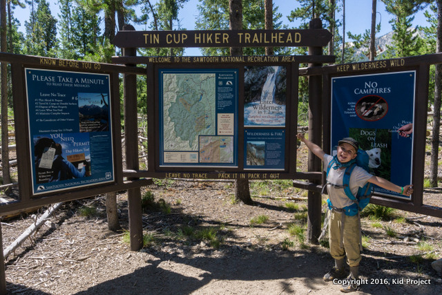Tin Cup Trailhead