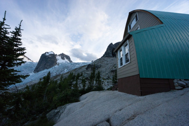 Conrad Kain Hut, Bugaboos full res