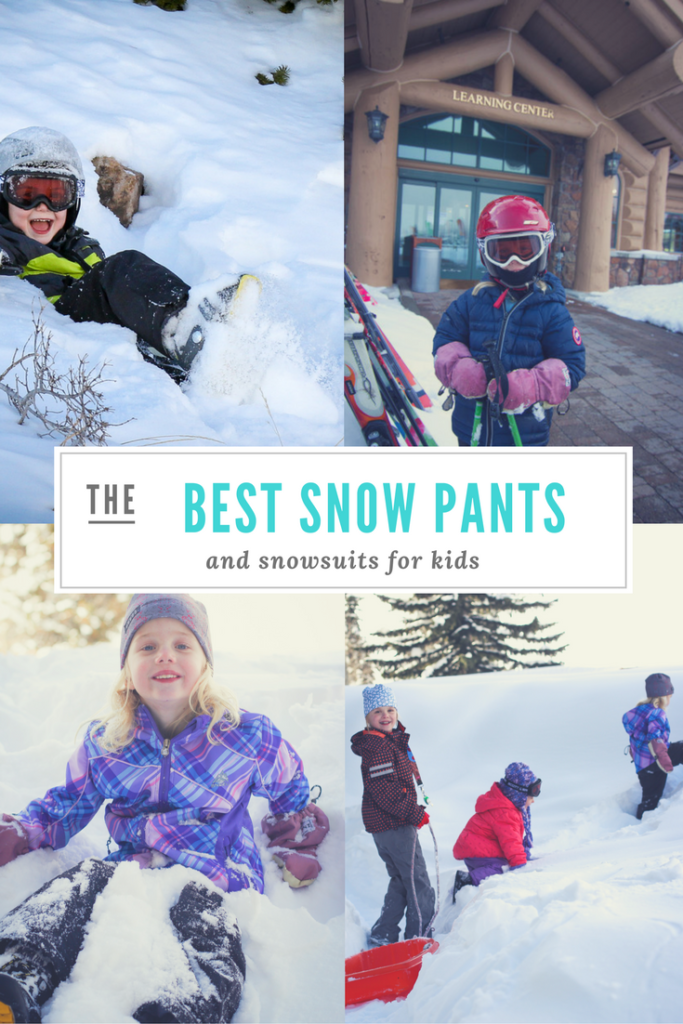 best-snow-pants for kids