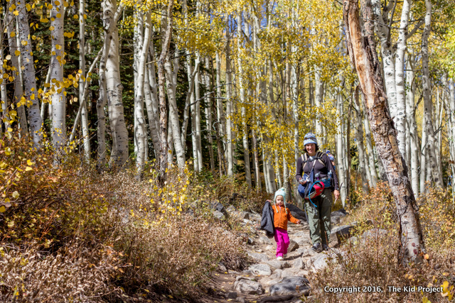 Hiking in the WAsatch during Fall