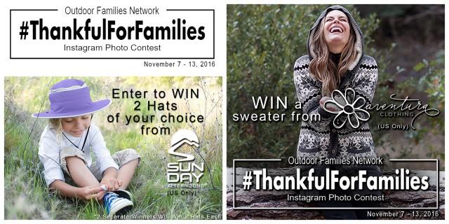 sundayafternoons#Thankfulforfamilies sponsors